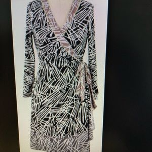BCBG MaxAzaria Wrap Dress